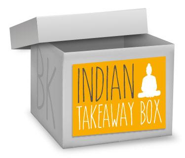 INDIAN TAKEAWAY BOX